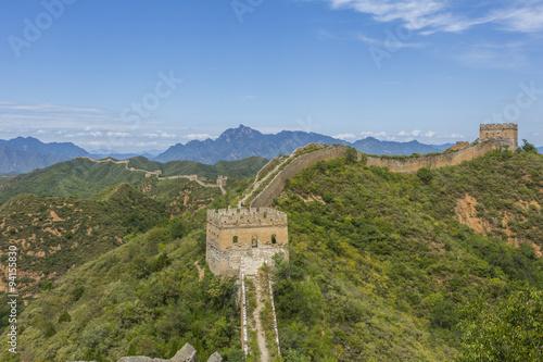 Great Wall of China JinShanLing Canvas Print