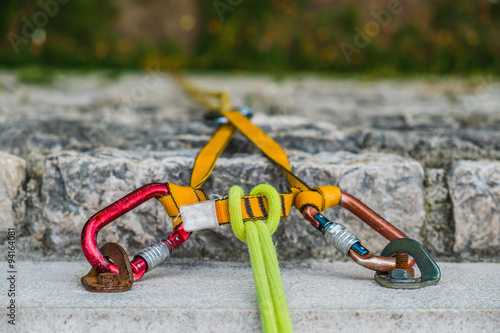 Photo Stands Mountaineering Climbing rock