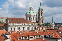 St. Nicholas Church In Prague, Bohemia, Czech Republic