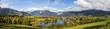 Panorama, Widescreen Ritzensee Saalfelden, Alpen