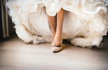 Bride Dresses Wedding Shoes
