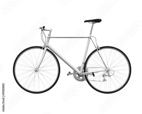 Deurstickers Fiets Bicycle Isolated