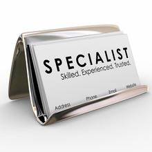 Specialist Professional Experi...