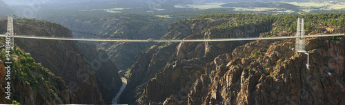 Foto op Canvas Bruggen Royal Gorge Bridge