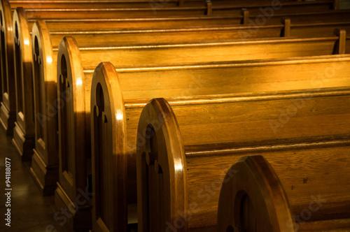 Canvastavla Church Pews