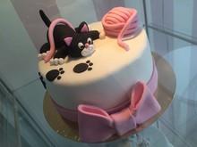 Tort Artystyczny Kotek