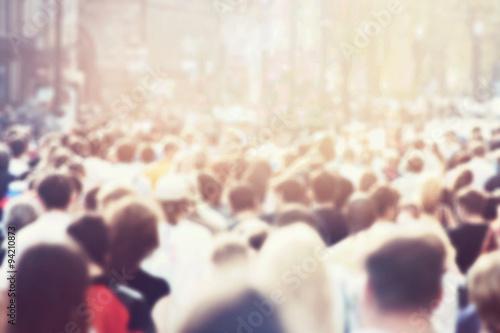 Crowd of people Fototapet