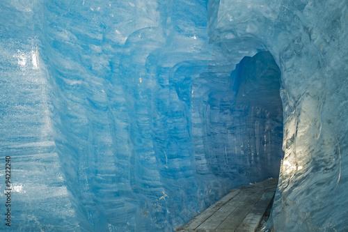 Printed kitchen splashbacks Glaciers Eisgrotte im Rhonegletscher, Wallis, Schweiz