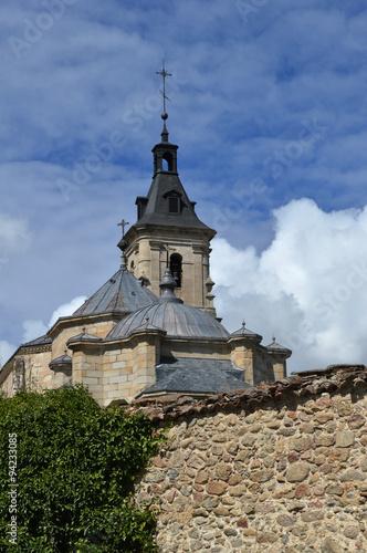 Fotografie, Obraz  Cúpula y torre de iglesia