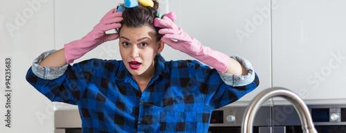 Despair perfect housewife Tapéta, Fotótapéta