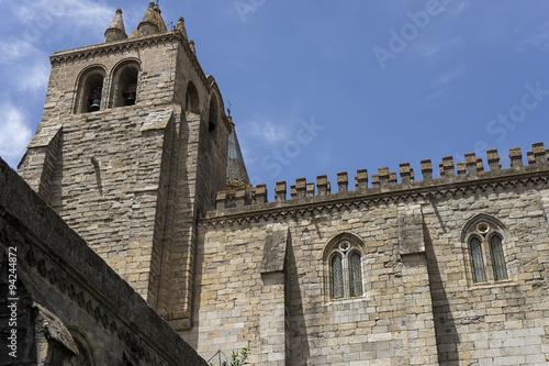 Poster Monument Catedral Basílica de Nuestra Señora de la Asunción de Évora, Portugal