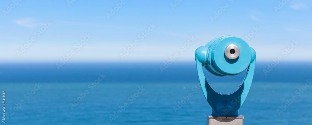 Fototapety, obrazy: panorama of binoculars and ocean