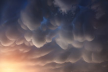 Mammatus Clouds Are Pouch-like...