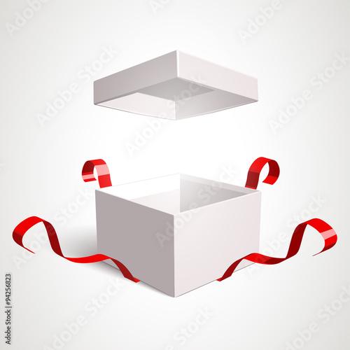 Valokuva  Open Gift Box
