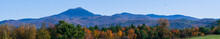 Banner Picture Of The Green Mountains Of Vermont In Fall