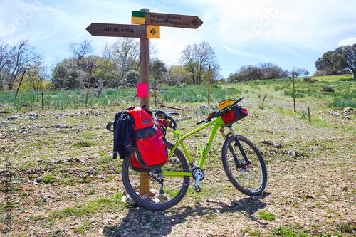 Way of Saint James from Atapuerca to Burgos bike