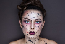 Cracks On Face