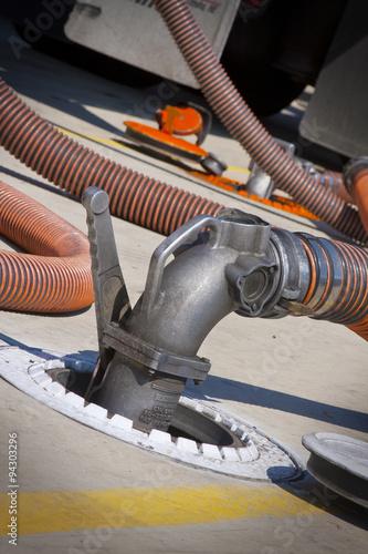 Fotografie, Obraz  Fuel Hose Coupler