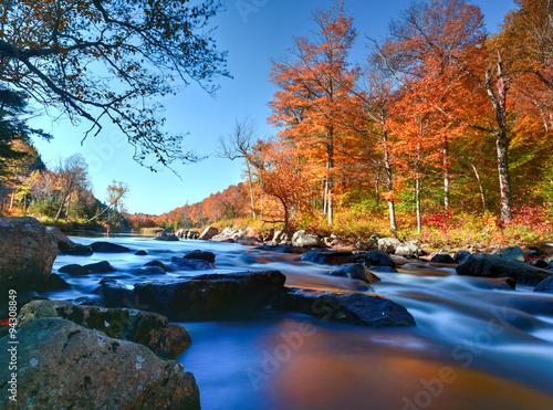 Valokuva  Adirondacks Fall Foliage, New York