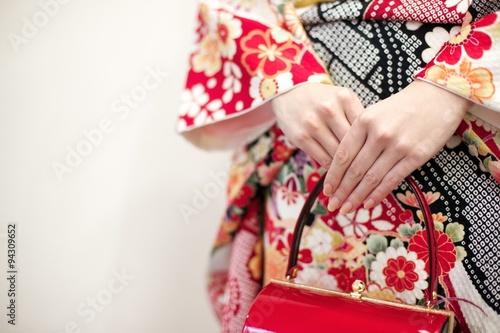 Valokuva 着物姿の女性
