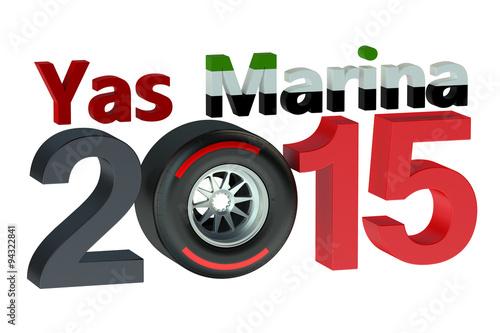 Fotografía  F1 Formula 1 Grand Prix Yas Marina 2015