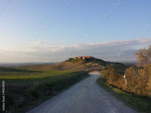 Papiers peints Cote Aufnahme der Landschaft in der Toskana