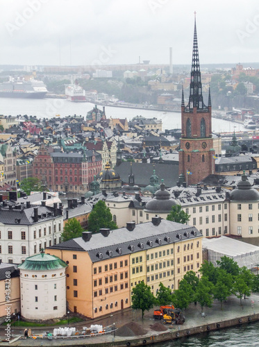 Photo  Stockholm aerial view
