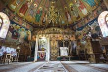 Interior Of Orthodox Chapel