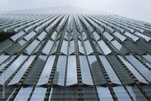 Fassade des One World Trade Centers in New York, USA Plakat