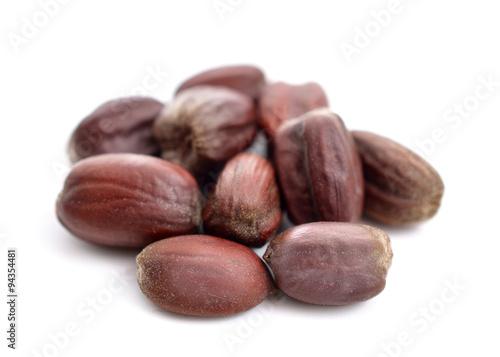 Fototapeta Jojoba (Simmondsia chinensis) seeds.