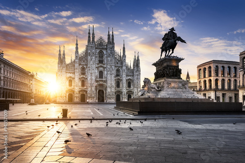 Milano spirit Canvas Print