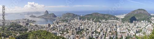 Photo Stands Rio de Janeiro Panorama in Rio de Janeiro, Brazil