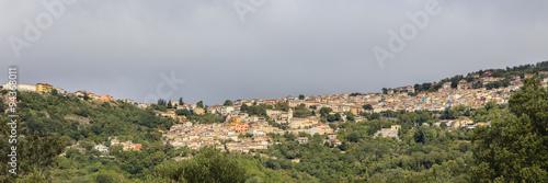 Fototapeten Natur Sardinië, panorama van Desuio, Nuoro