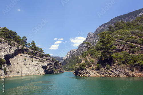 Fotografiet Big Green Canyon Nature Reserve in Turkey