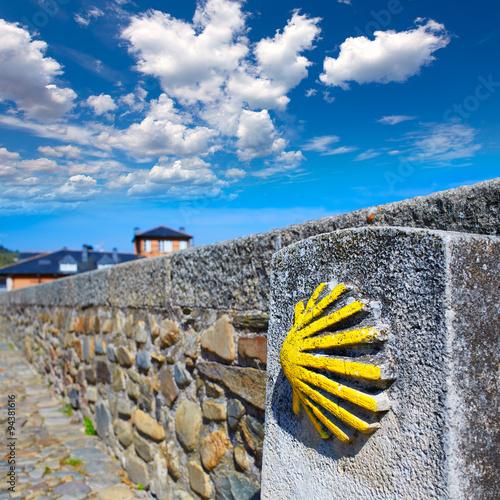 Stampa su Tela Way of Saint James by Molinaseca El Bierzo Leon