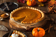 Festive Homemade Pumpkin Pie
