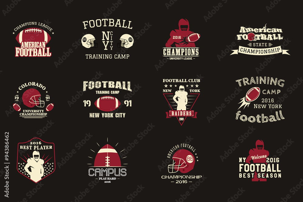 image regarding Printable College Logos called Picture Artwork Print Faculty rugby and american soccer workers