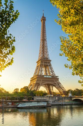 Deurstickers Eiffeltoren Paris Eiffelturm Eiffeltower Tour Eiffel