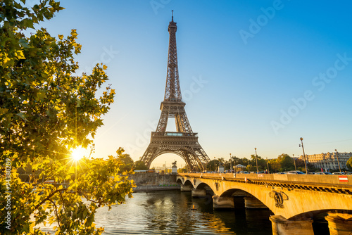 Paris Eiffelturm Eiffeltower Tour Eiffel Canvas Print