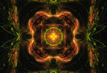 Digital Art: Fractal Graphics: The Brave Heart Legend. Who Ever Get It Will Become A Brave Man, Nothing Can Beat Him Again. Fantastic Wallpaper / Background / Scene Design. Sci-Fi / Abstract Style.