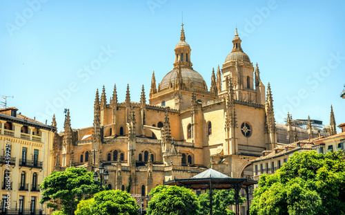 Segovia Cathedral is a Roman Catholic religious church in Segovi