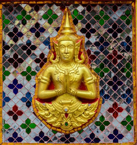 Fotografía Thai painting in Wat Thep Leela