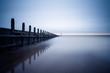 Leinwanddruck Bild - Sea defences