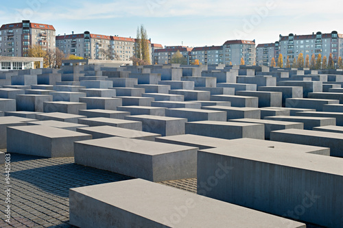 Fotografie, Obraz  Jewish Holocaust Memorial, Berlin