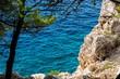 Landschaft Makarska, Dalmatien, Kroatien F
