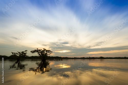 Laguna Grande Cuyabeno Ecuador