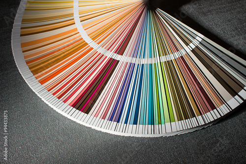Color Card Color Guide Closeup Color Chart Color Swatch Buy