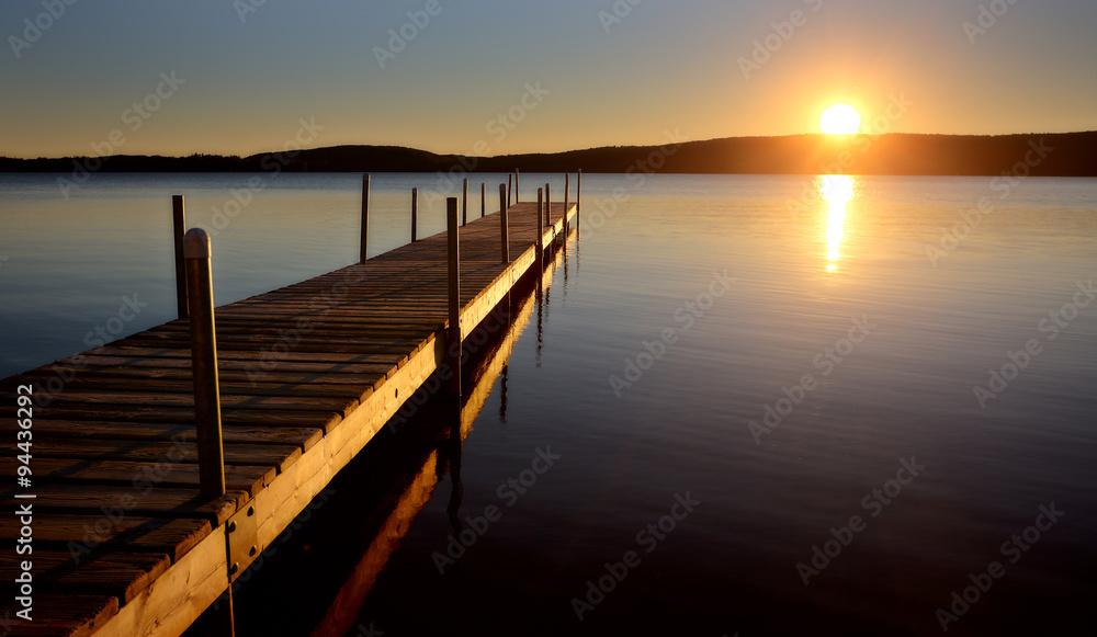 Fototapeta Algonquin Park Muskoka Ontario Lake Wilderness