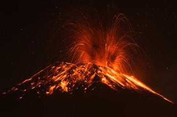 Tungurahua Volcano Ecuador