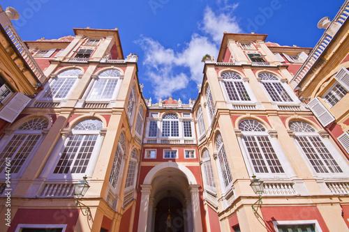 Fotografia  Royal Palace in Genoa, Italy, frontal facade